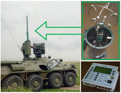 БМК-01 в составе бортовой системы