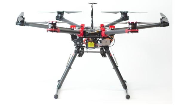 Внешний вид гексакоптера DJI S900