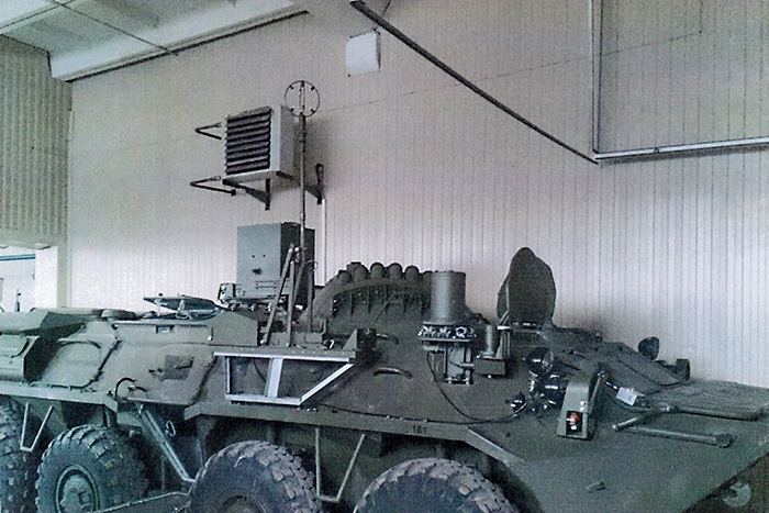 Новая модификация АМК-Б