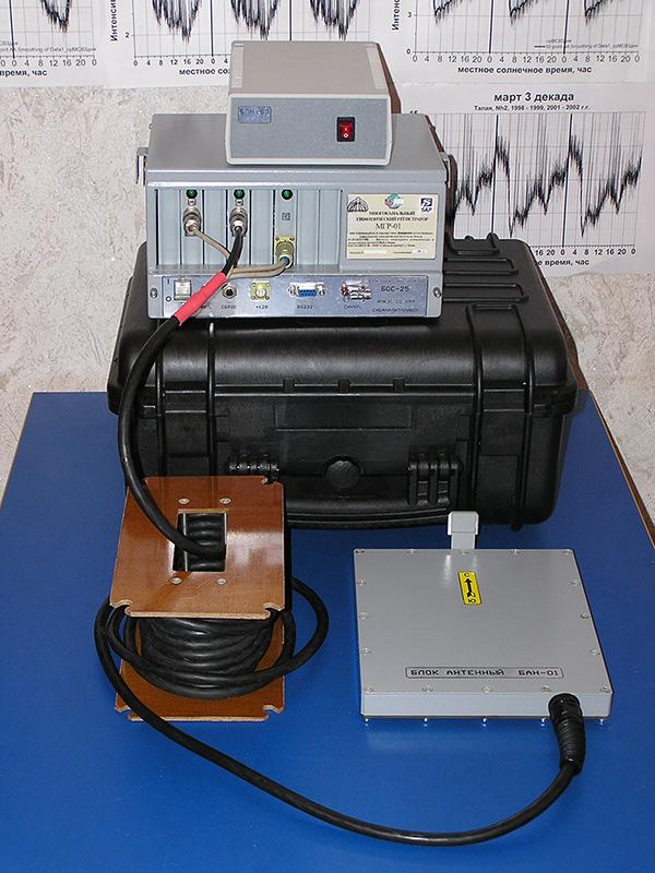 Разработка комплекса для мониторинга геодинамических процессов в земной коре